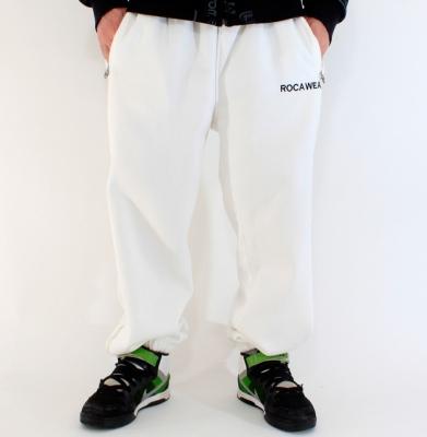 Spodnie Dresowe ROCA WEAR Białe