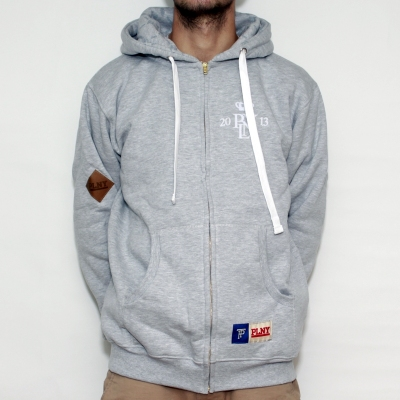 Bluza PLNY Grey Hoodie Zip
