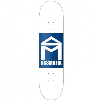 Deska SK8MAFIA WHITE DOUBLE DIP 8.0+ Papier Gratis