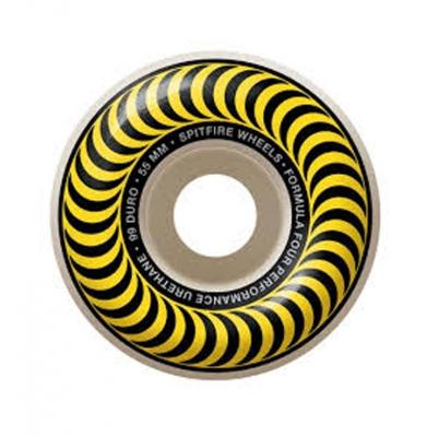 Koła SPITFIRE Formula Four Classic Yellow 99a 55mm