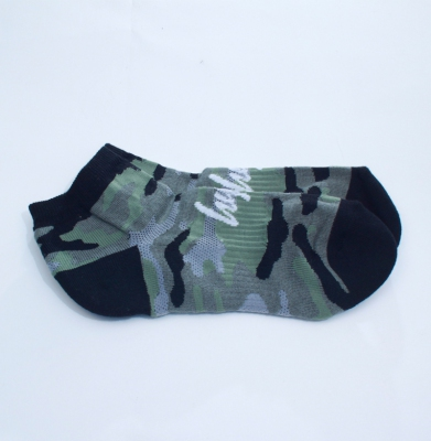 Skarpetki HYPE Camo Trainer Sock Black
