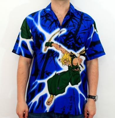Koszula ASASSIN Niebieska