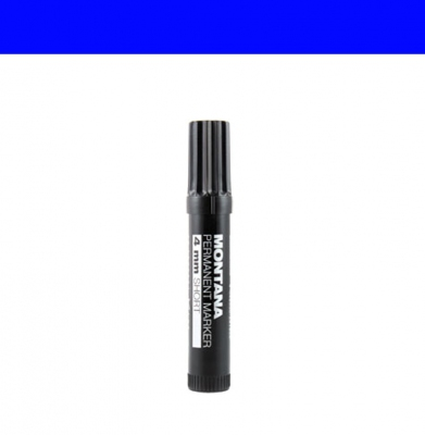 Marker MONTANA Permanent Short 4mm Blue