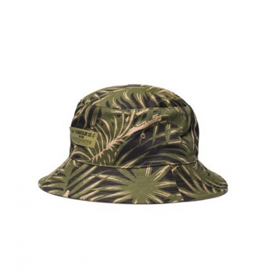 Czapka TURBOKOLOR BUCKET HAT DECK CREW PALM MUSTER CAMO