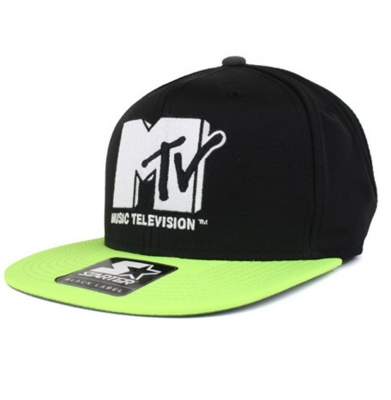 Snapback STARTER MTV PARTY PROOF Black/Volt
