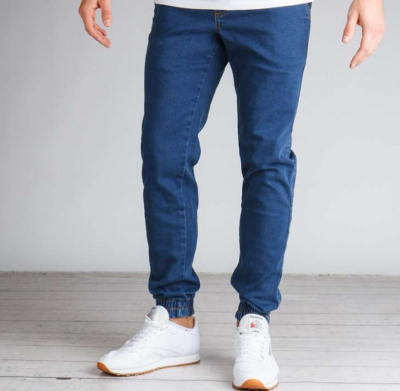 Spodnie ELADE JOGGER DENIM II DARK BLUE