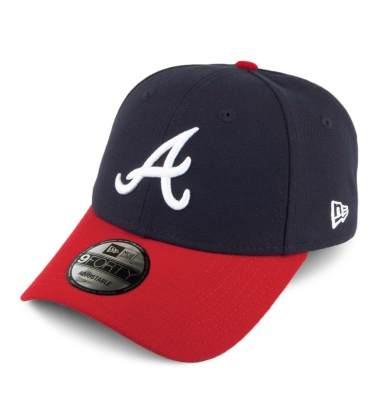 Czapka NEW ERA 9FORTY ATLANTA Navy/Red