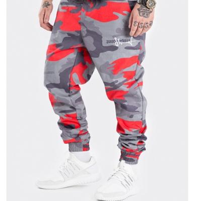 Spodnie Joggery STOPROCENT CLASSIC CAMO Red/Grey