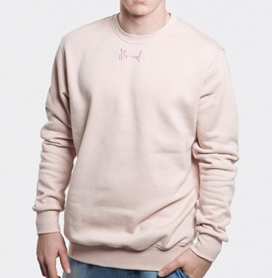 Bluza STOPROCENT BBK BASE17 Dirty Pink