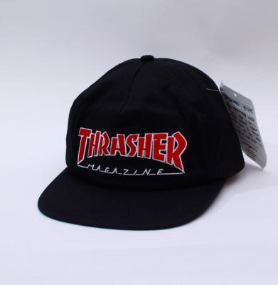 Czapka THRASHER SNAPBACK OUTLINED Black