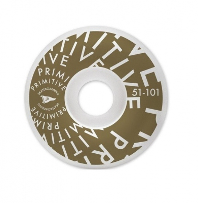 Koła PRIMITIVE Pennant Vortex Team Gold 51mm 101a