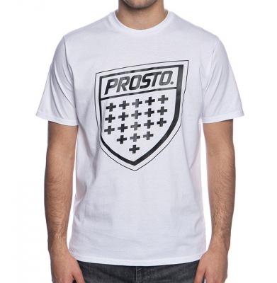 Koszulka PROSTO SHIELD XX WHITE