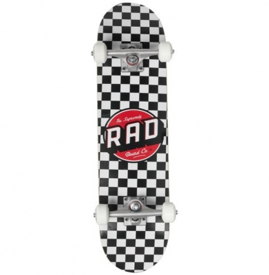 Deskorolka RAD CHECKERS WHITE 7.5