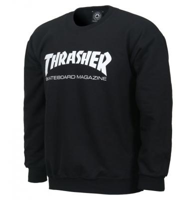 Bluza THRASHER S15 Magazine Logo Black