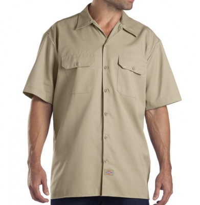 Koszula DICKIES SHORT SLEEVE Original Fit 1574 Khaki