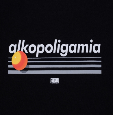Bluza ALKOPOLIGAMIA Tapes Scotch