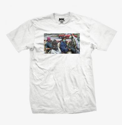 Koszulka DGK Voyage White