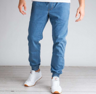 Spodnie ELADE JOGGER DENIM II LIGHT BLUE