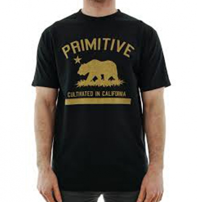 Koszulka PRIMITIVE Cultivated Solid Black