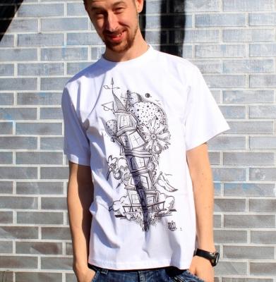 Koszulka SOULFLY CHATKA Biała