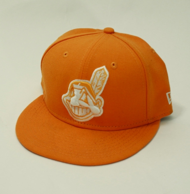 Czapka MLB INDIANS NEW ERA GOLD