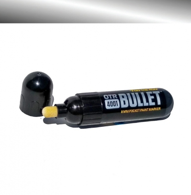 Marker ON THE RUN 4001 Bullet Silver 8mm