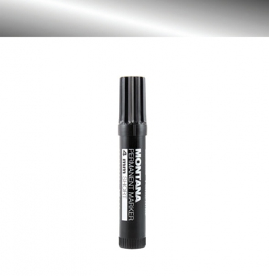 Marker MONTANA Permanent Short 4mm Silver