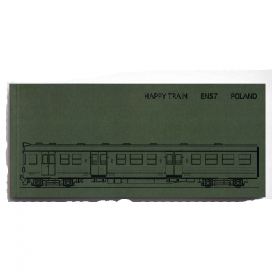 Graffiti Color Book Plan Train