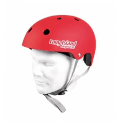 Kask LONG ISLAND Red Matt