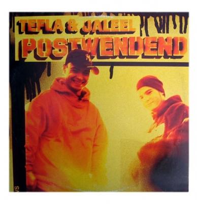 Vinyl Tefla & Jaleel - Postwendend