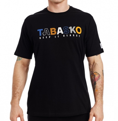 Koszulka TABASKO Keep It Classy Czarna