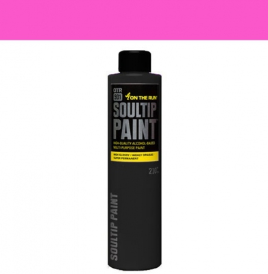 Farba ON THE RUN Soultip Hot Pink 210ml