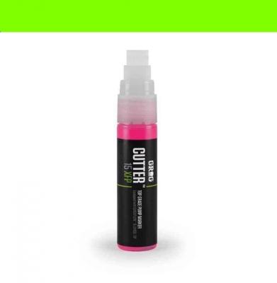 Marker GROG Cutter 15 XFP Neon Green 15mm