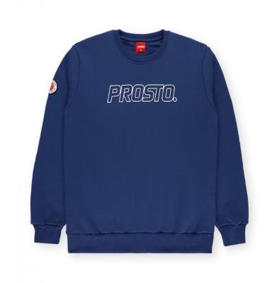 Bluza PROSTO CREWNECK STRAD DARK BLUE