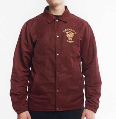 Kurtka TURBOKOLOR HERALD JACKET OG BURGUNDY