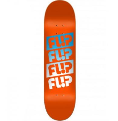 Deska FLIP Team Quattro Faded Orange 8.45 + Papier Jessup Gr