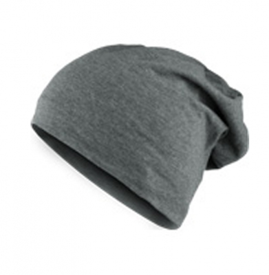 Czapka MASTERDIS Heather Jersey Beanie Black