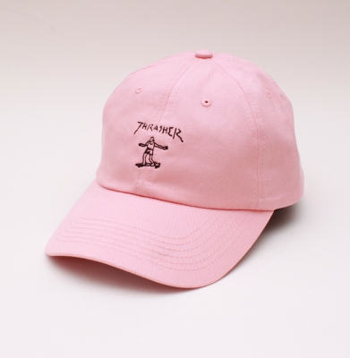 Czapka THRASHER 5PANEL Gonz Old Timer Pink
