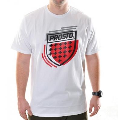 Koszulka PROSTO TS BLAZE WHITE