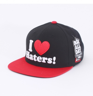 Czapka Snapback DGK I Love Haters Black