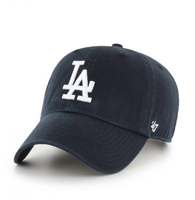 Czapka 47 BRAND Los Angeles Dodgers Czarna