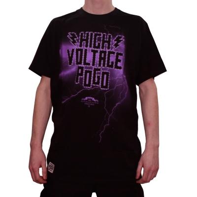 T-Shirt POGO REVOLUTION HIGH VOLTAGE BLK