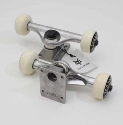 Trucki Combo ZOO YORK White 5.25 52mm