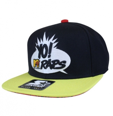 Snapback STARTER MTV RAPS LOGO Black/Yellow