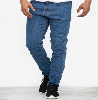 Spodnie MORO Slim Label Jasny Niebieski