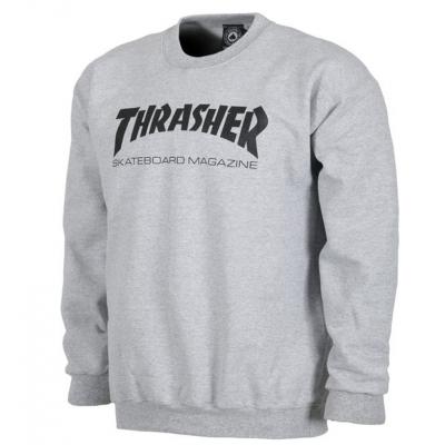 Bluza THRASHER S15 Magazine Logo Grey