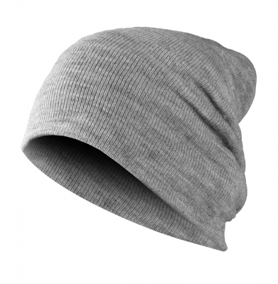 Czapka Zimowa MASTERDIS Basic Flap Heather Grey