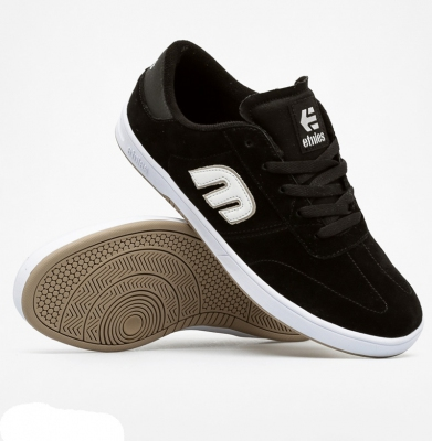 Buty ETNIES Lo Cut Black/White