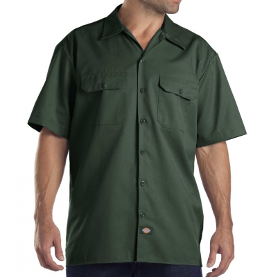 Koszula DICKIES SHORT SLEEVE Original Fit 1574 Hunter Green