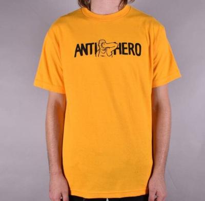 Koszulka ANTIHERO Face Punch Gold